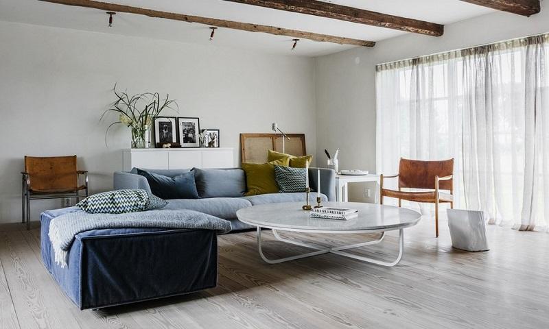 Апартамент тип Студио- хол обзавеждане и декорация