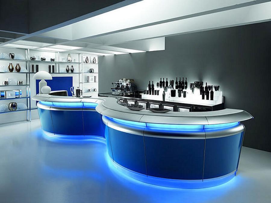 Италианско-бар-оборудване-лед-осветление