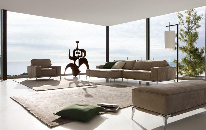 Кожен-диван-дизайнерски-решения