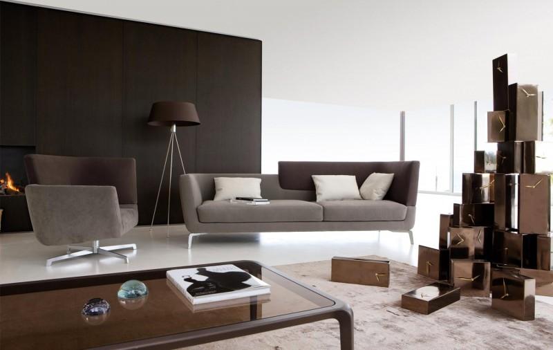Кожен-диван-елегантен-стил
