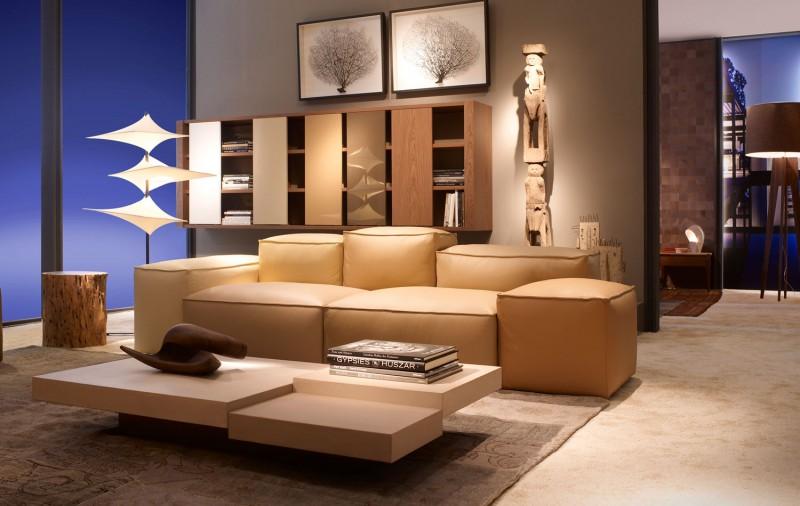 Кожен-диван-луксозна-обстановка