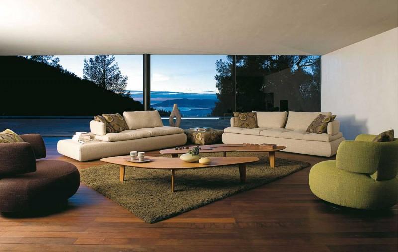 Кожен-диван-уютна-атмосфера