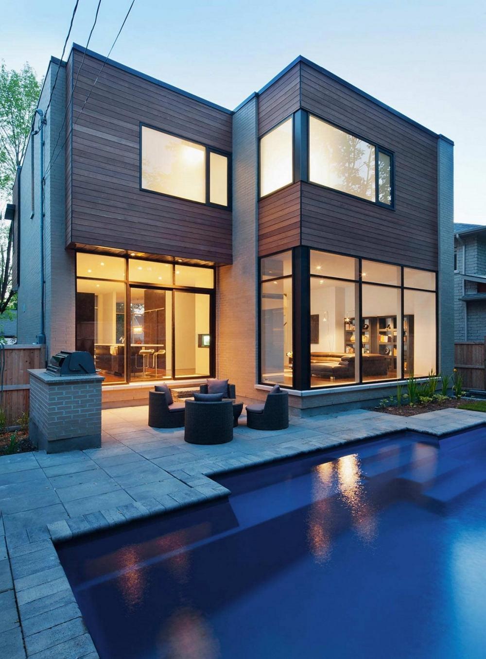 Къща-с-модерна-архитектура-и-минималистичен-интериор-басейн
