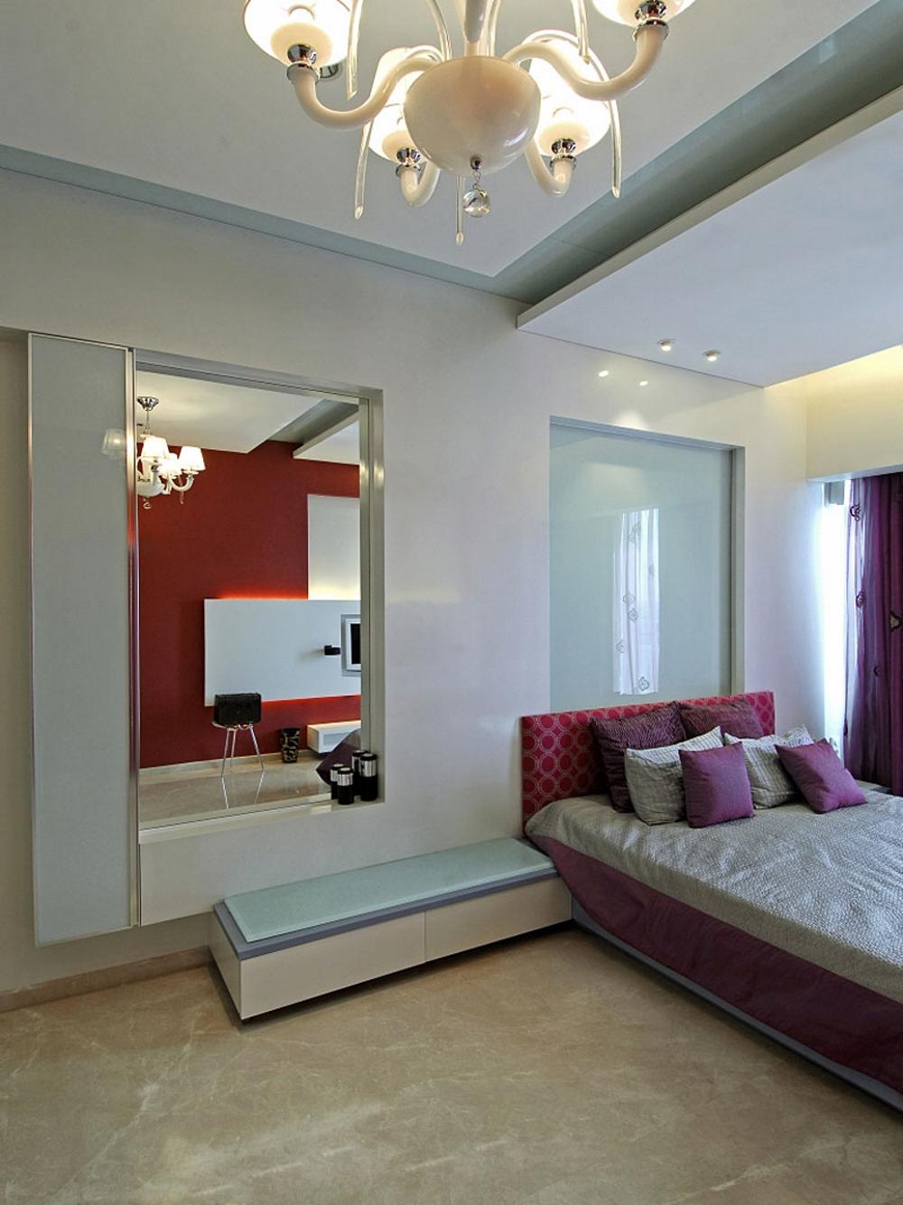 Луксозен-дизайн-на-мезонет-модерно-обзавеждане-за-спалня