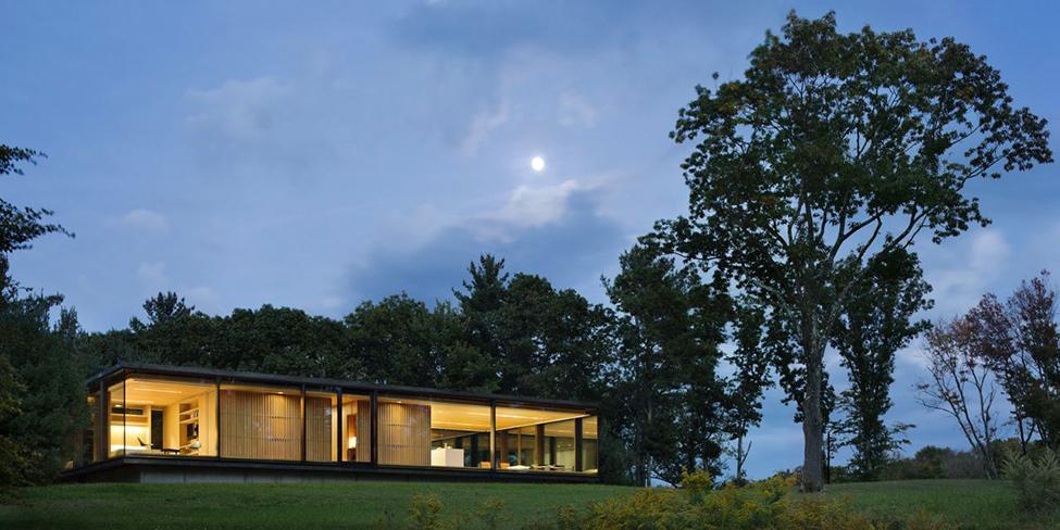 Модерен-дом-сред-гората-архитектура