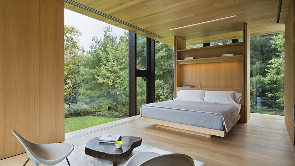 Модерен-интериор-съвременен-дом-сред-гората