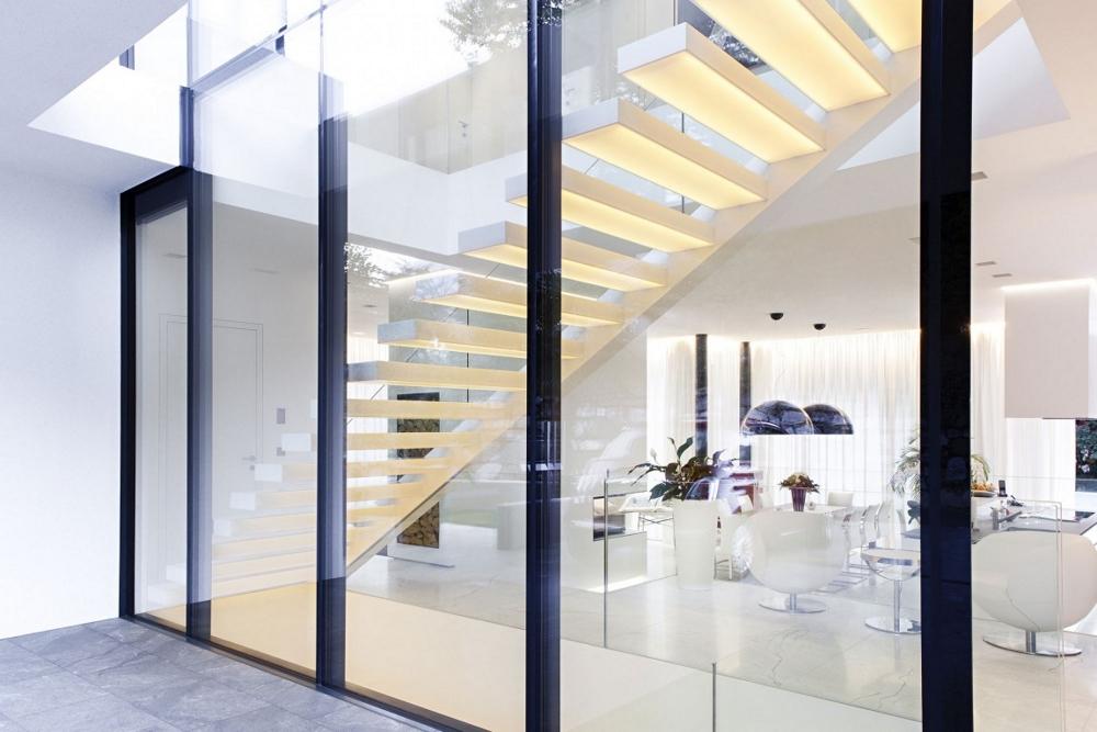 Модерна-италианска-архитектура-вътрешни-стълби