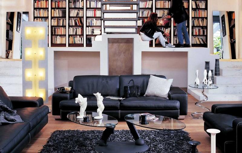 идеи-за-обзавеждане-на-хола-кожени-мебели