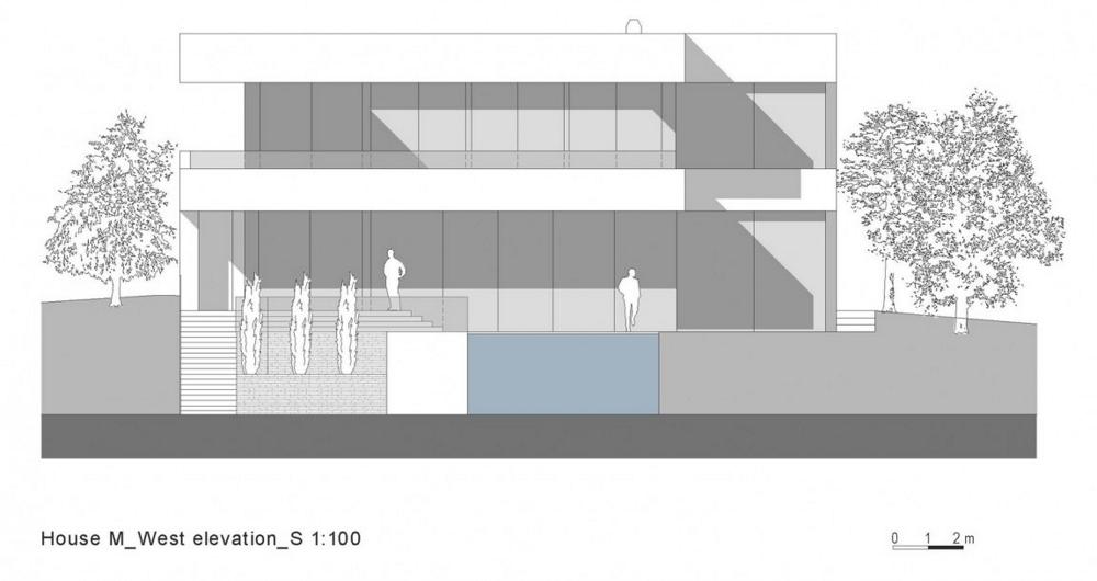 House-M-от-monovolume-architecture-+-design-елевация-запад