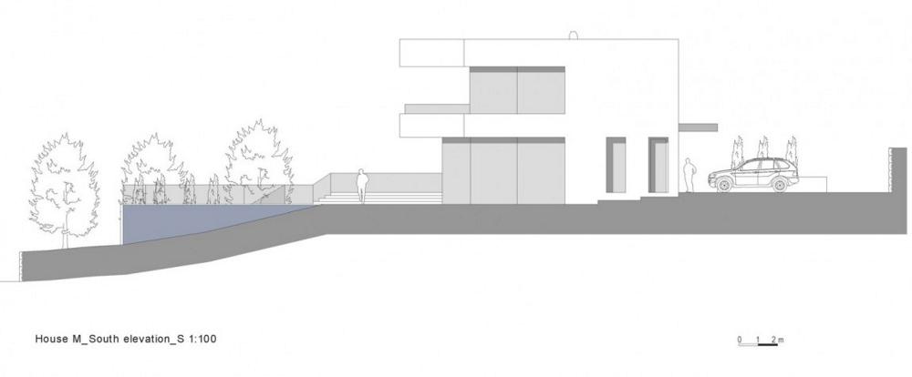 House-M-от-monovolume-architecture-+-design-елевация-юг